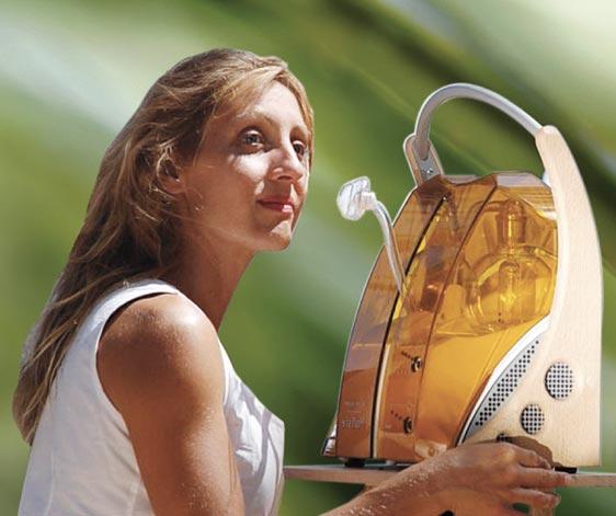 Séance d'oxygénation du corps grace au bol d'air Jacquier