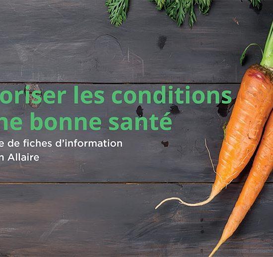 Favoriser les conditions d'une bonne santé, une newsletter de Julien Allaire