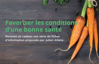 Newsletter fiche d'information naturopathie par Julien Allaire